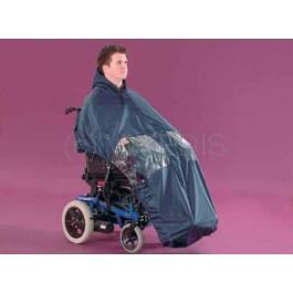 Imperméable pour fauteuil roulant électrique
