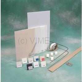 Kit de matières thermoformables d'introduction aux attelles