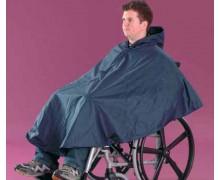 Cape imperméable pour fauteuil roulant