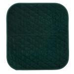 Alèse protection d'assise pour fauteuil vert