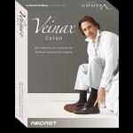 Chaussettes contention Veinax Coton homme Classe 2
