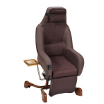 Fauteuil coquille releveur électrique Starlev Innov'SA Choco