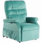 Fauteuil releveur Confort Classic 1 moteur vert Caraibes