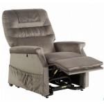 Fauteuil releveur Confort Classic 1 moteur gris Taupe