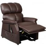 fauteuil releveur électrique Confort plus 1 moteur Marron Brisa