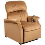 fauteuil releveur électrique Confort plus 1 moteur Cognac