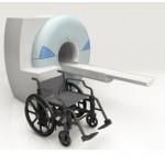 Fauteuil roulant plastique pour IRM