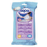 Gants jetables Sensitive Aqua