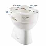 Réhausse WC Invacare Maris