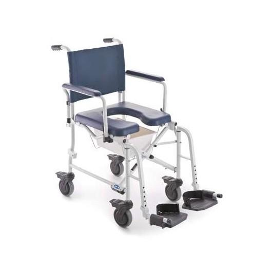 Fauteuil roulant de douche et de toilette Invacare Lima petites roues
