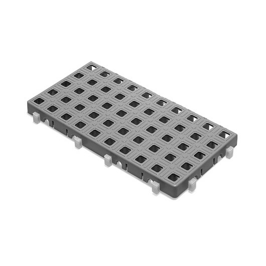 Dalle rectangulaire pour rampe modulaire