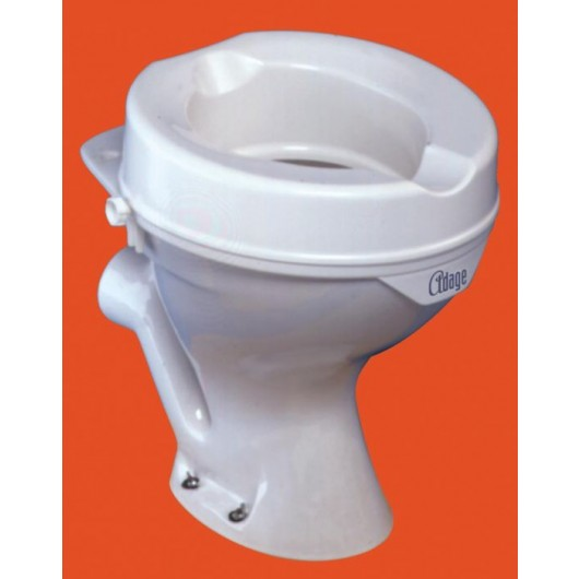 Siège de toilettes sans abattant