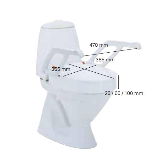 Rehausseur WC Aquatec 90000