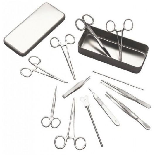 Boîte d'instrumentation pour petite chirurgie