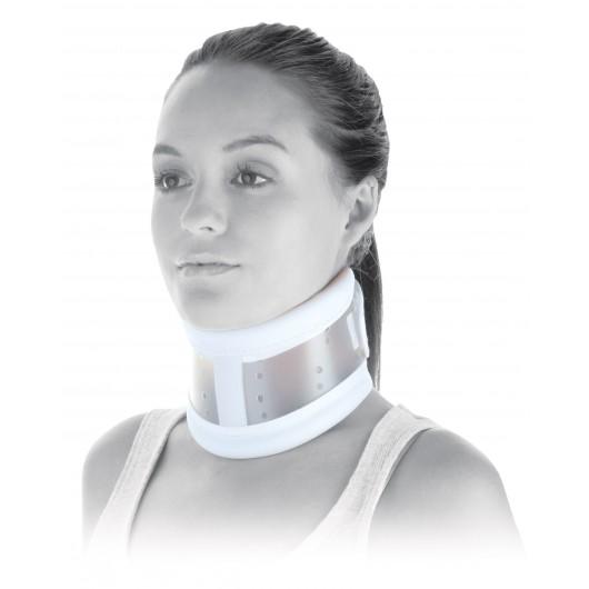 Collier cervical rigide C3 Donjoy avec appui mentonnier (mentonnière)