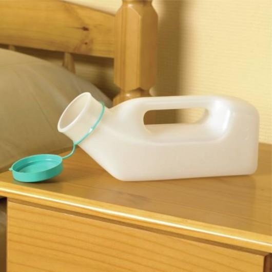 Urinal pour homme avec bouchon Homecraft