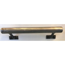 barre d'appui sur mesure en acier brut