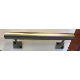 barre d'appui sur mesure en acier inox
