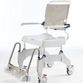 chaise-aquatec-ocean-ergo-roues-5''-côté gauche