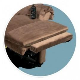 Extension de repose-jambes pour fauteuil releveur