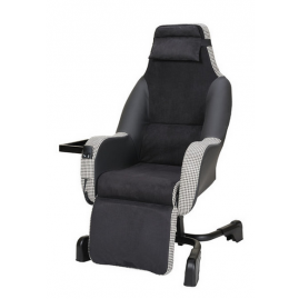 Fauteuil coquille releveur électrique Starlev Chic Edition Innov'SA Face