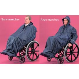 Imperméable complet pour fauteuil roulant