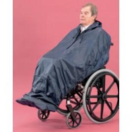 Imperméable intégral pour fauteuil roulant