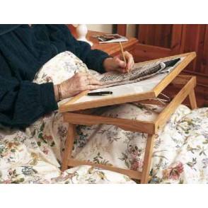 Plateau de lit en bois