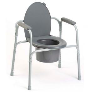 Cadre de toilette / réhausse WC / chaise garde robe Invacare Styxo