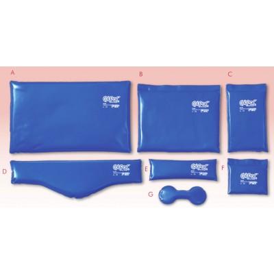 Compresses COLPAC en vinyle bleu pour dispositif de refroidissement Chattanooga COLPAC