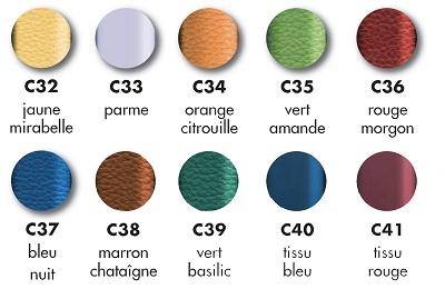 Coloris fauteuil de repos Languedoc