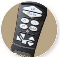 Télécommande à mémoire de positions